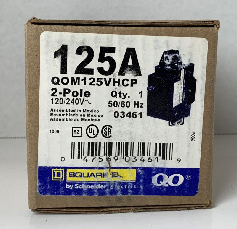 Square D by Schneider Electric QOM125VHCP QOM1 Frame Size 125-Amp Main Breaker
