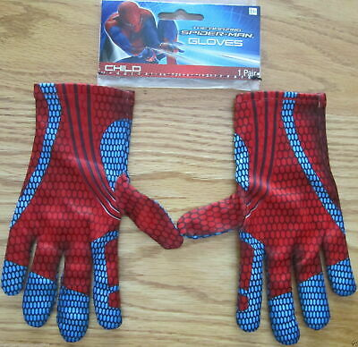 Amazing Spider-Man Peter Parker Costume Gloves Marvel Comics - Amazing Spider Man Handschuhe