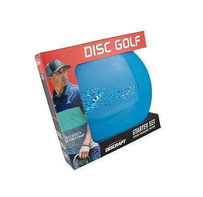Discraft Starter Pack Beginner Disc Golf Set (3-Pack) 1 Driver, 1 Mid-Range, ...