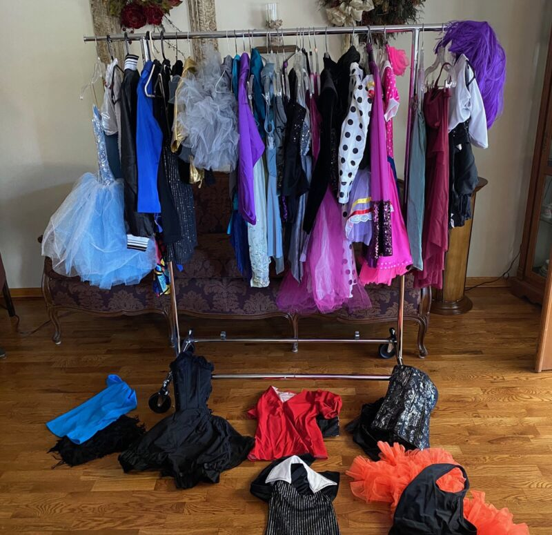 Several Years Of Girl Early Teen Dance Costumes (38+)