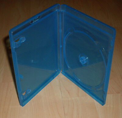 Blu Ray Hüllen Case Cases Hülle blau für Blu-Rays Blue Ray 14mm 1fach Neu
