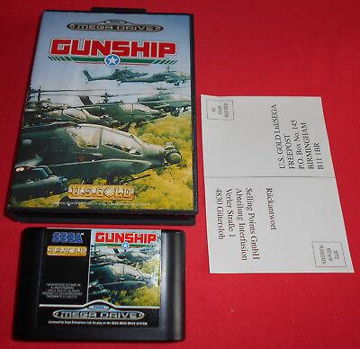 Megadrive 1 & 2 Gunship [PAL] Sega *JRF*