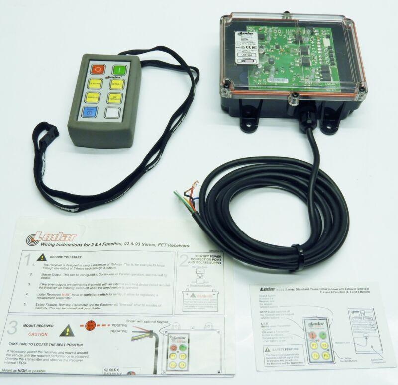 Lodar 6 Function Wireless Winch Remote Control Extend Retract Torque De-Torque P
