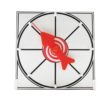 Prize Wheel 12 inch White Face Table Top Dry Erase Spinner Game - Game Spinner Wheel