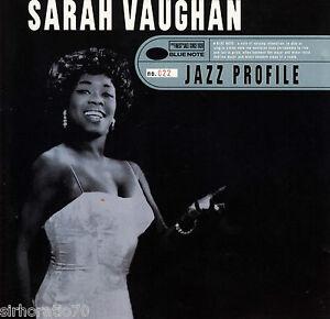 SARAH-VAUGHAN-Jazz-Profile-CD-New
