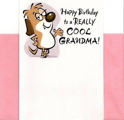 Funny Happy Birthday Cool Grandma Spoiling You Spoil Me Hallmark Greeting Card - Funny Grandma Cards