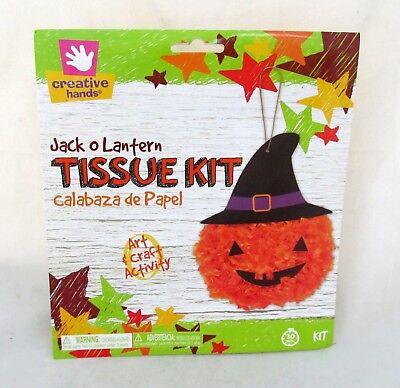 Halloween Pumpkin Jack O Lantern Tissue Kit Art Craft School Project Party Decor (Halloween Pumpkin Projects)