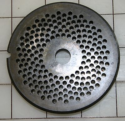 22 Commercial Meat Grinder 18 Die For Hobart Disc Cutter Plate