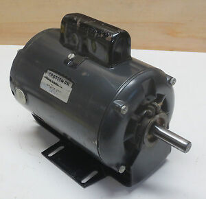 Sears Craftsman Table Saw Motor 1 Hp 3450 Rpm Single Phase 115 V 14 Amp Ebay