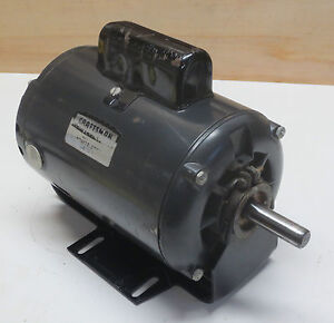 Sears Craftsman Table Saw Motor 1 Hp 3450 Rpm Single Phase