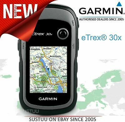 Garmin eTrex 30x Outdoor Handheld GPS│GLONASS│Western Europe TopoActive Maps