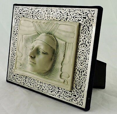 Sculptures RESIN & FILIGREE SILVER FACE