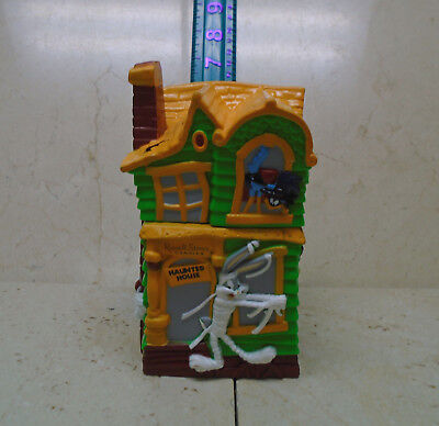 VTG 1997 Russell Stover Looney Tunes Haunted House COIN BANK Halloween Bugs +  (Russell Stover Halloween)
