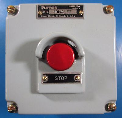 Furnas 50ha1e2 Heavy Duty Push Button Stop Control Station