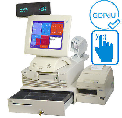 Fsc Preh Touchscreen Till Cash Register System Dealer Catering Cash Drawer