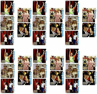 Disney HIGH SCHOOL MUSICAL 30 LARGE Stickers Zac Efron Ashley Tisdale