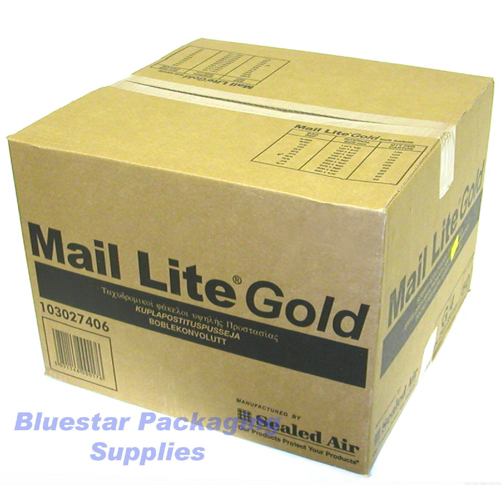 C//0 White Mail Lite Padded Envelopes 150mm x 210mm Bubble Wrap Lined Mailers 100