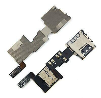 Sim/MicroSD Karten Leser + Speicherkarte Flex Für Samsung Galaxy Note 4