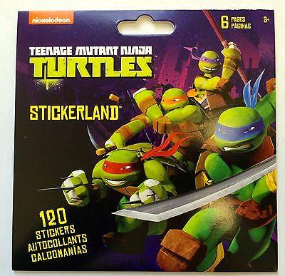 Ninja Turtle Party Supply (120 Teenage Mutant Ninja Turtle TMNT Stickers  Party Favors Teacher Supply)