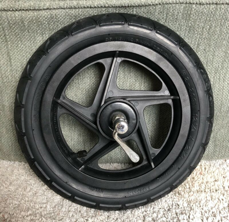 """BOB B.O.B. Stroller Jogger Replacement 12.5"""" FRONT Quick Release Wheel W/ Tire"""