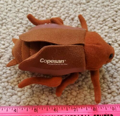 copesan roach advertising plush cockroach