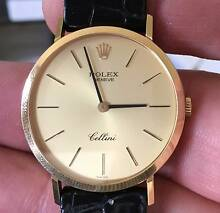 Rolex Cellini Watch, reference 4112,18K Solid Gold Case Kenmore Brisbane North West Preview