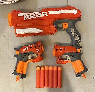Nerf Mega Bigshock + Modulus Grip Blaster
