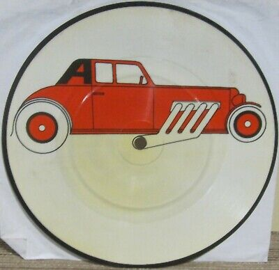 THE CARS - MY BEST FRIEND'S GIRL/MOVING IN STEREO - 45 RPM PIC DISC - UK - NM-