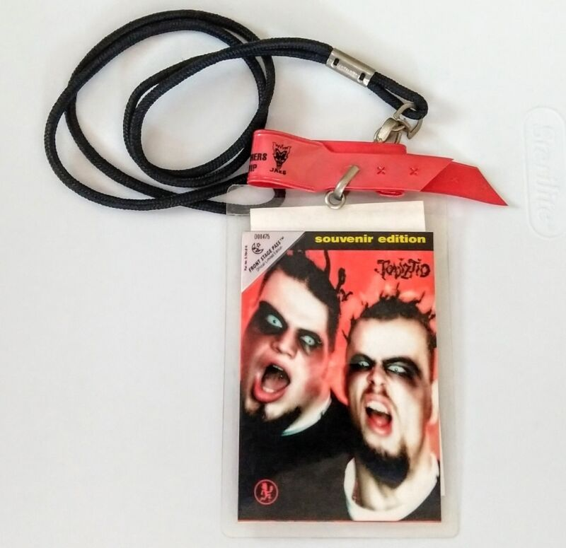 Tizted Front Stage Pass Souvenir Edition Lanyard Backstage All Access Juggalo