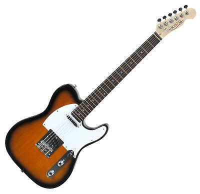 Guitarra Electrica Telecaster Estilo Vintage Sunburst 2 Tonos 2x Single Coil