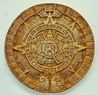 Maya Aztec Wall Calendar Patinised for House u Garden New Frost Resistant 2533