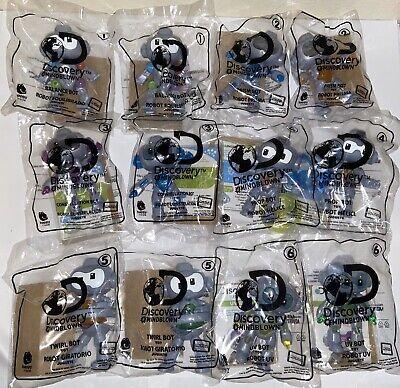 McDonalds 2020 Discovery Mindblown Robots Complete Set