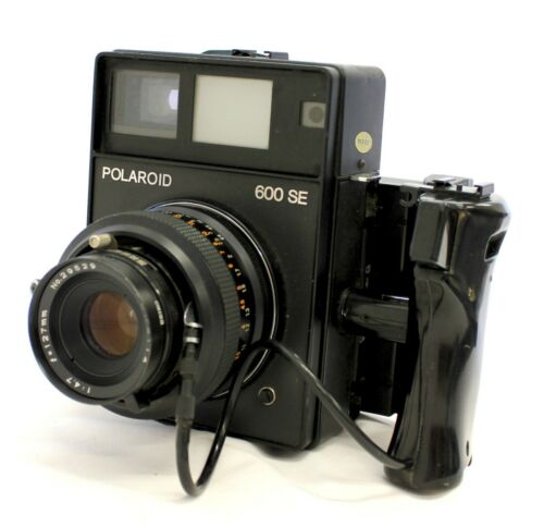 Polaroid 600 SE Instant Camera w/ Mamiya 127mm F/4.7 & Polaroid Back from Japan