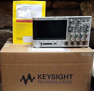 Agilent Dsox3034a Fresh Keysight Calibration 350 Mhz 4ch Oscilloscope Dso Hp