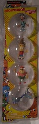 Jimmy Neutron 4 Figure Pack Nickelodeon Nicktoon's Jimmy Carl Sheen & Goddard