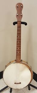 VINTAGE NO NAME TENOR BANJO FOR PARTS OR PROJECT MYSTERY BRAND UNKNOWN 4 STRING