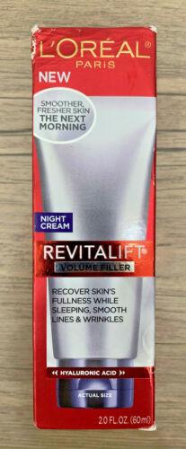 Loreal Paris Revitalift Volume Filler Night Cream 2  fl oz