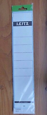 Leitz Replacement Spine Labels for files 1640 (contains 8 unused labels)