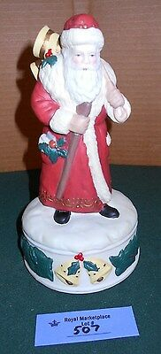 Thomas L. Cathey MIDWEST Cannon Falls MUSICAL Santa Figurine