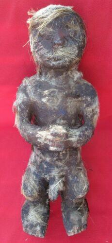 Haunting Old Baule Monkey Power Figure Fetish Shrine ~ Ivory Coast