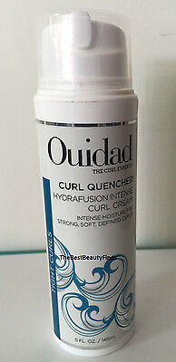 Ouidad Curl Quencher Hydrafusion Intense Curl Cream 5oz - NEW & (Ouidad Curl Quencher Hydrafusion Intense Curl Cream)