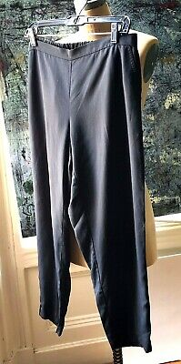 Tencel-twill (Eileen Fisher Tapered Tencel Twill Anklepant in  Petite  Large New  with Tags)