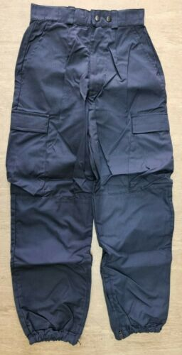 Ex Armed Police Units Derby Unitex FRCTR54 Combat Tactical Trousers Size 80R UK