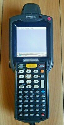 Symbol Motorola Mc3090 Mobile Computer Pda Laser Wireless Barcode Scanner