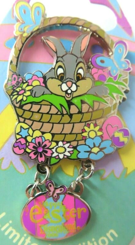 Disney Pin DLR - Happy Easter 2006 Collection - Thumper LE 1500 #45692