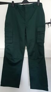 Mens Dark Green Dimensions Ambulance Paramedic Uniform Trousers 26