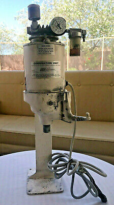 Whip Mix Dental Lab Combination Unit Model D 115v 13 Hp With Stand New Switch