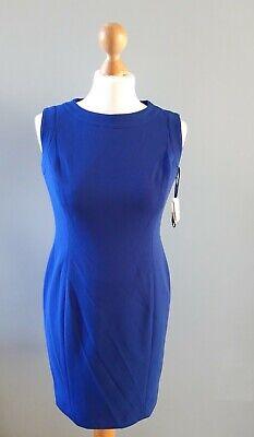Ladies Kasper Blue Sheath Dress. UK 6, US 2p. Petite. New with tags