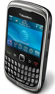 NEW BLACKBERRY 9300 CURVE BLACK UNLOCKED GPS WIFI AT&T T-MOBILE GSM