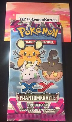 1 Pokemon Probepack Booster Pack **XY04 Phantomkräfte** deutsch  ==> NEU & OVP
